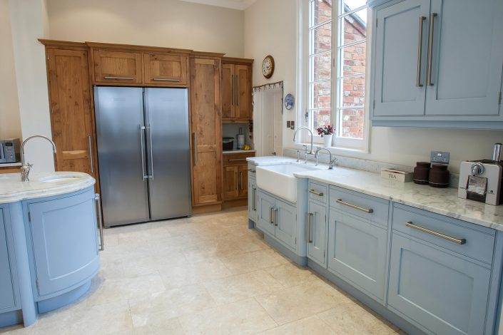 Character Oak and Painted French Grey